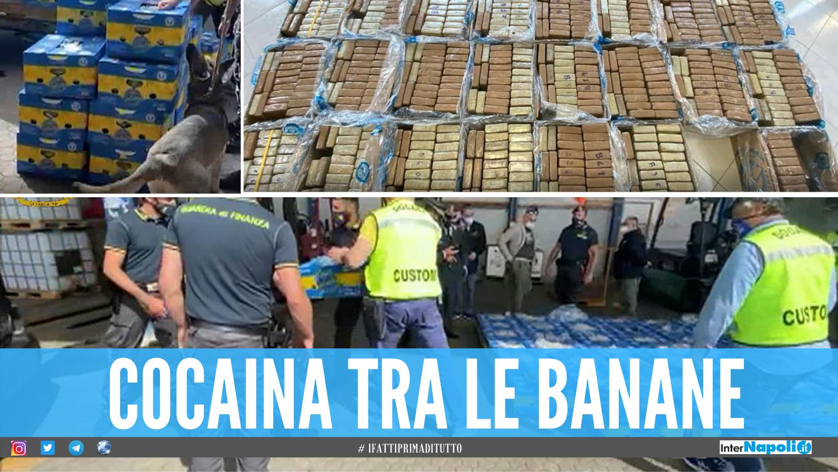 Gioia Tauro, una tonnellata di coca nella banane dell'Ecuador