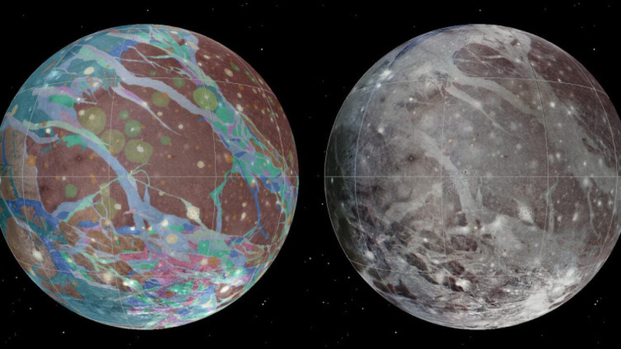 La sonda della NASA Juno ha appena sorvolato Ganimede