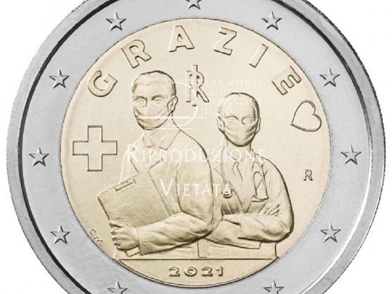 Ecco la nuova moneta da 2 Euro che celebra le professioni sanitarie e socio sanitarie.
