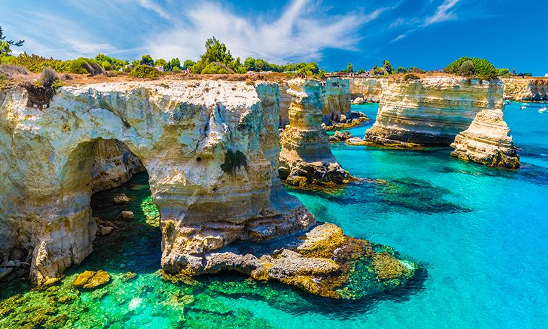 Salento: nasce la prima spa marina d'Italia
