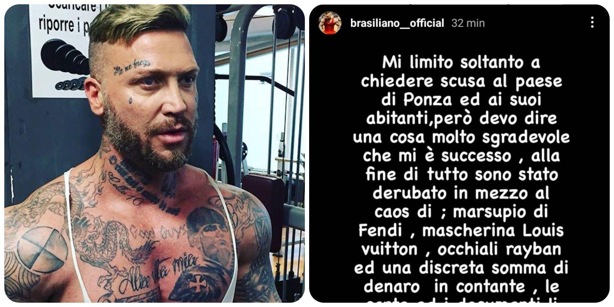 """Er Brasiliano arrestato a Ponza: """"Chiedo scusa a Ponza ma dopo il caos…"""""""