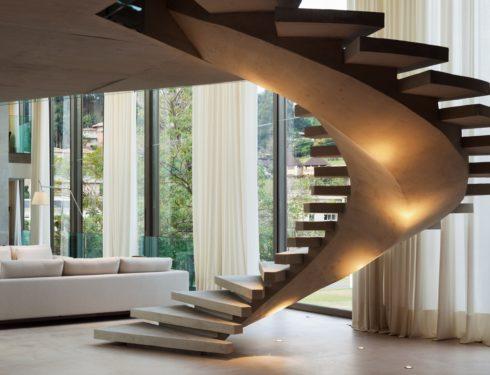 A San Paolo una villa che gioca sui contrasti