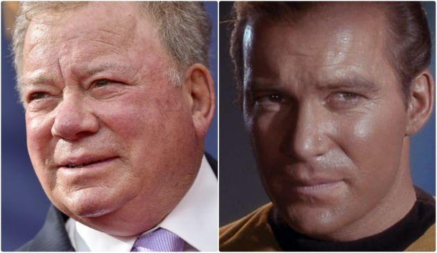Il Capitano Kirk nello spazio